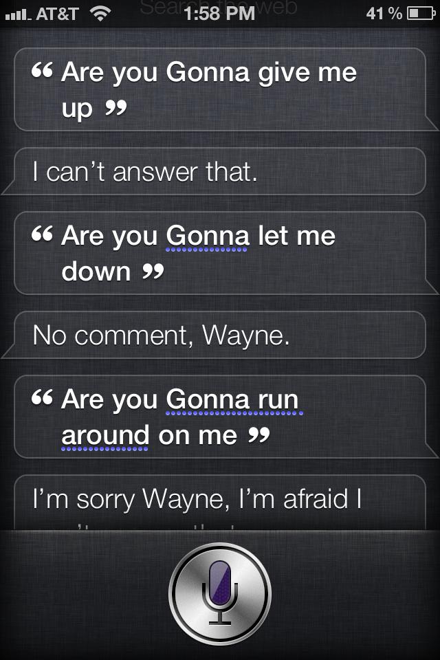 Siri Outtake #38
