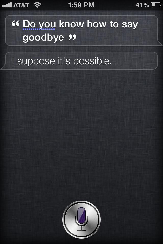Siri Outtake #39