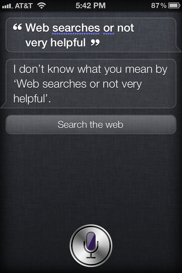 Siri Outtake #42
