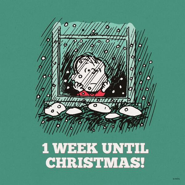 One Week Until Christmas