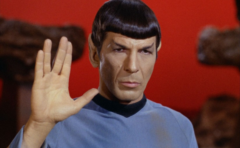 Live Long and Prosper Mr. Spock