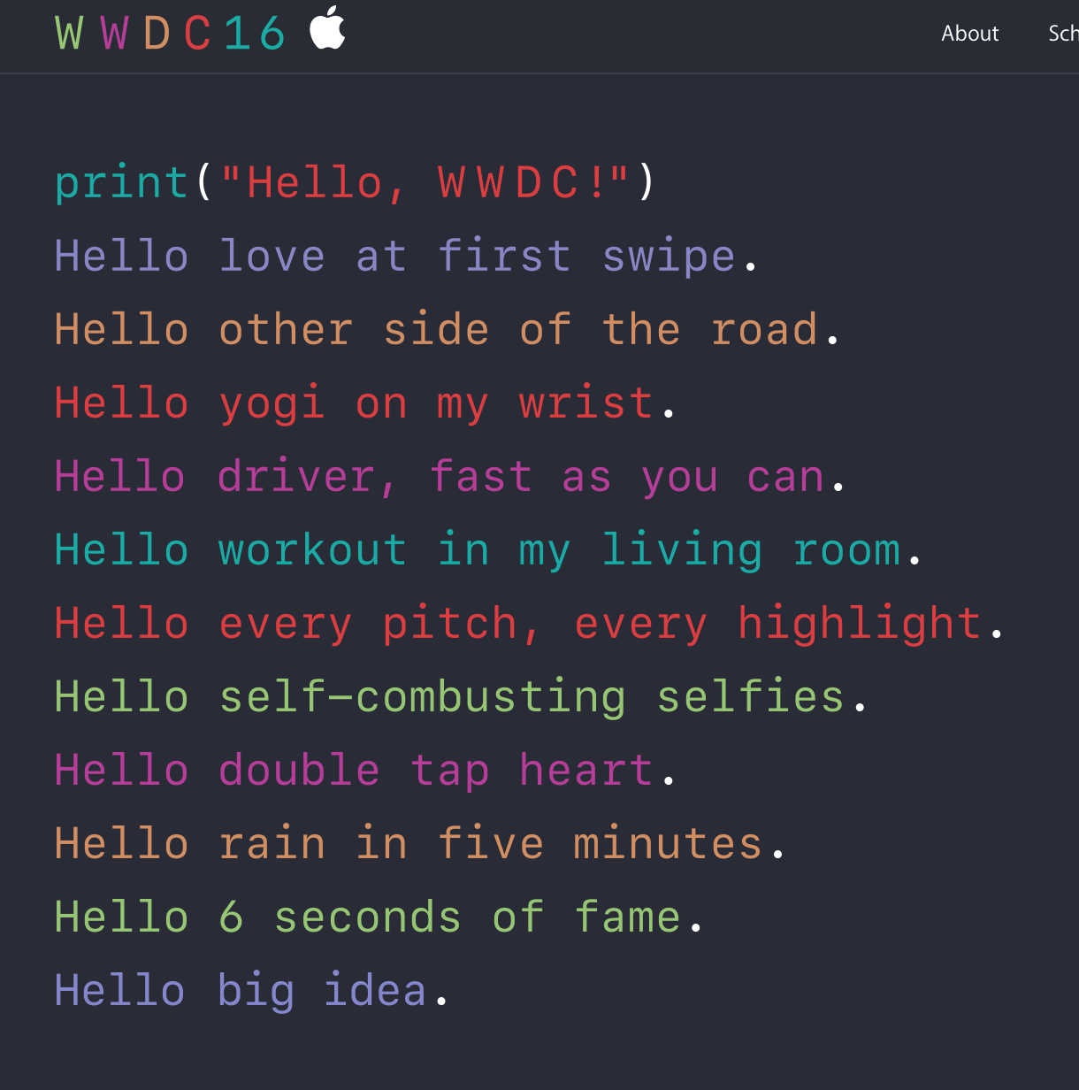 Apple's WWDC Registration Now Open