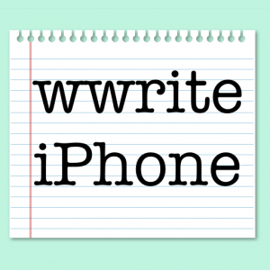 wwrite.iPhone.Logo