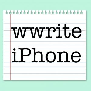 wwrite.iPhone.Logo